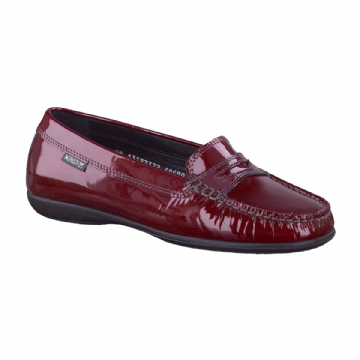 Mephisto 'AXENA'  Wine Patent Leather